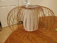 Copper Light shade **never used**