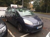 CITROEN GRAND PICASSO 2007 purple for spares or repairs