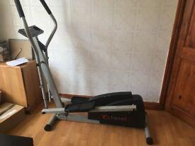 elliptical machine cross fit running weights