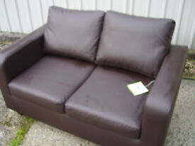 Twin seater Setee and matching armchair, only 12 months old, and is fire resistance
