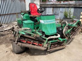 RANSOME RIDE ON MOWER