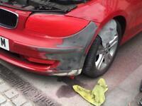Budget mobile car body repair