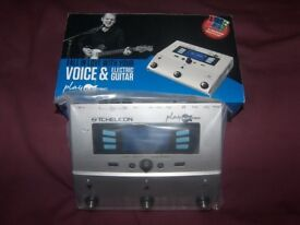 TC-Helicon / TC Helicon Play Electric Vocal and Guitar Multi-FX Processor , Vocalist / Brand New !
