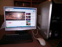 Packard Bell PC inc Monitor, Keyboard and Mouse