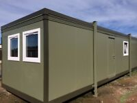 32x10ft Site Office / Portable Building / Jack leg / Canteen / Steel cladded / 5800+VAT