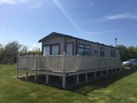 2 stunning 3 bedroom caravans on primrose valley to hire