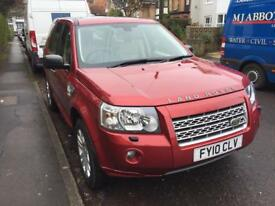 Freelander 2 HSE 2.2 TD4 Automatic Red 2010 63k Miles