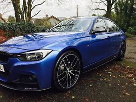 Bmw F30 320d M performance kitted choice of 4