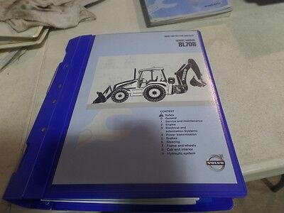 Volvo Bl70b Backhoe Loader Service Manual