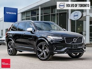2017 Volvo XC90 T6 AWD R-Design *CPO Ext Warr to 2023*