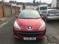 Peugeot 207-Manual-Very Low Mileage-Long MOT-Full service History-Excellent car