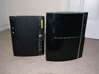PS3 fat and PS3 super slim for spares or repair