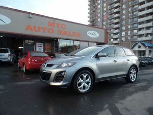 2011 Mazda CX-7 GT, AWD, LEATHER, BACKUP CAM, DVD Player