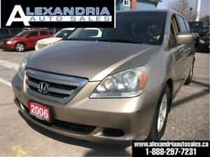 2006 Honda Odyssey EX/8 passengers/safety included
