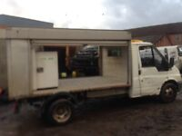 Ford transit milk flot ideal recovery conversion