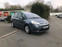Citroen C$ Grand Picasso, Very high specifiction, 92k, Main dealer history