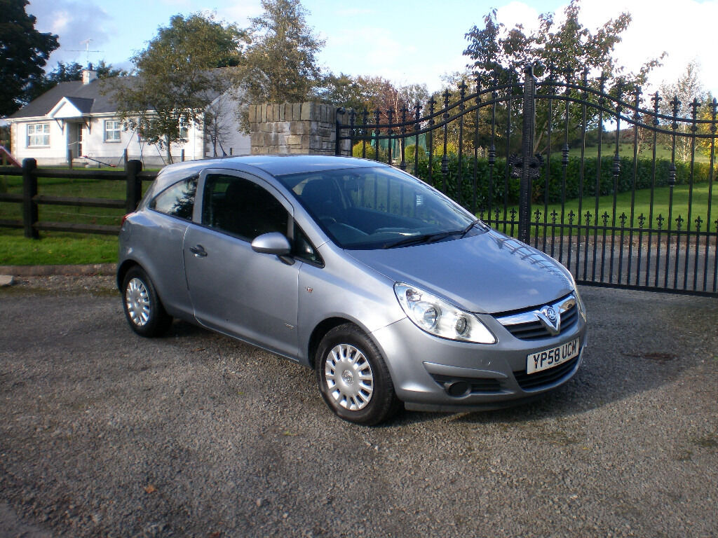 2009 vauxhall corsa life a c 1 3 cdti 3 door in omagh. Black Bedroom Furniture Sets. Home Design Ideas