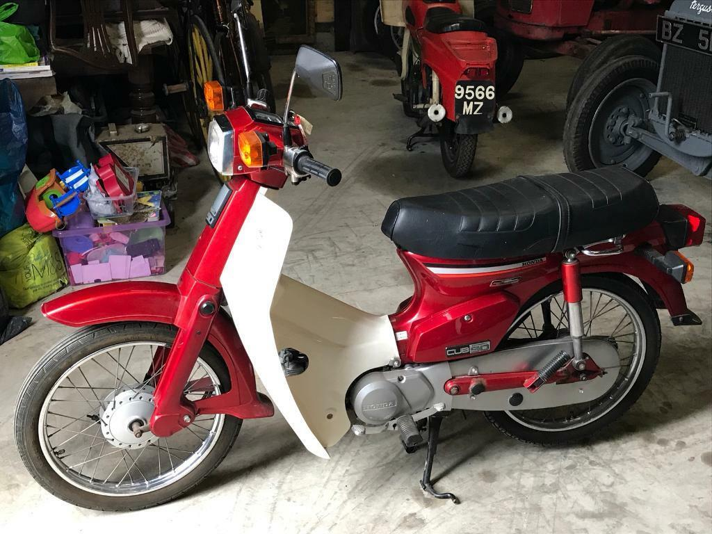honda cub 90 scooter in moira county armagh gumtree. Black Bedroom Furniture Sets. Home Design Ideas