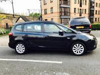 Vauxhall ZAFIRA MPV 2012 1.4 Automatic 7seates pco available black