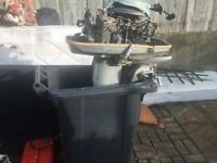 JOHNSON 40HP OUTBOARD BOAT ENGINE SPARES OR REPAIRS