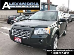 2008 Land Rover LR2 SE 141km safety included