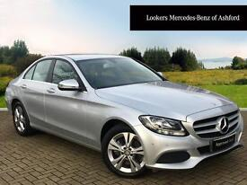 Mercedes-Benz C Class C220 D SE EXECUTIVE (silver) 2016-01-29
