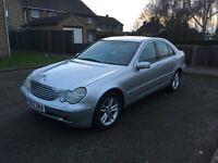 2002 Mercedes C220 CDI Elegance Automatic **8 Months MOT** £895ono