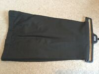 "M&S mens suit trousers T15. Charcoal. 36"" waist 33"" leg. New condition."