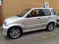 Rare AUTOMATIC small 4x4 Daihatsu Terios 2002