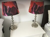 2 x Ikea Lamps