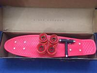 Real red penny board £30