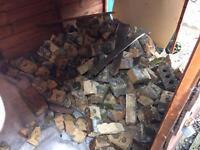 Free old bricks/rubble