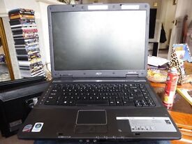 Acer TravelMate 5720 Laptop No charger