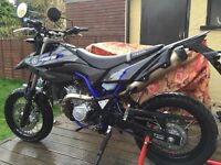 Yamaha WR125X 2015 only 1333 miles
