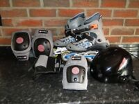 Never been used Inline Skates and Accessories