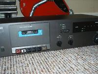 NAD 6220 cassette deck.