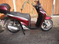 Honda SH 125 2010 Super condition Wimbledon