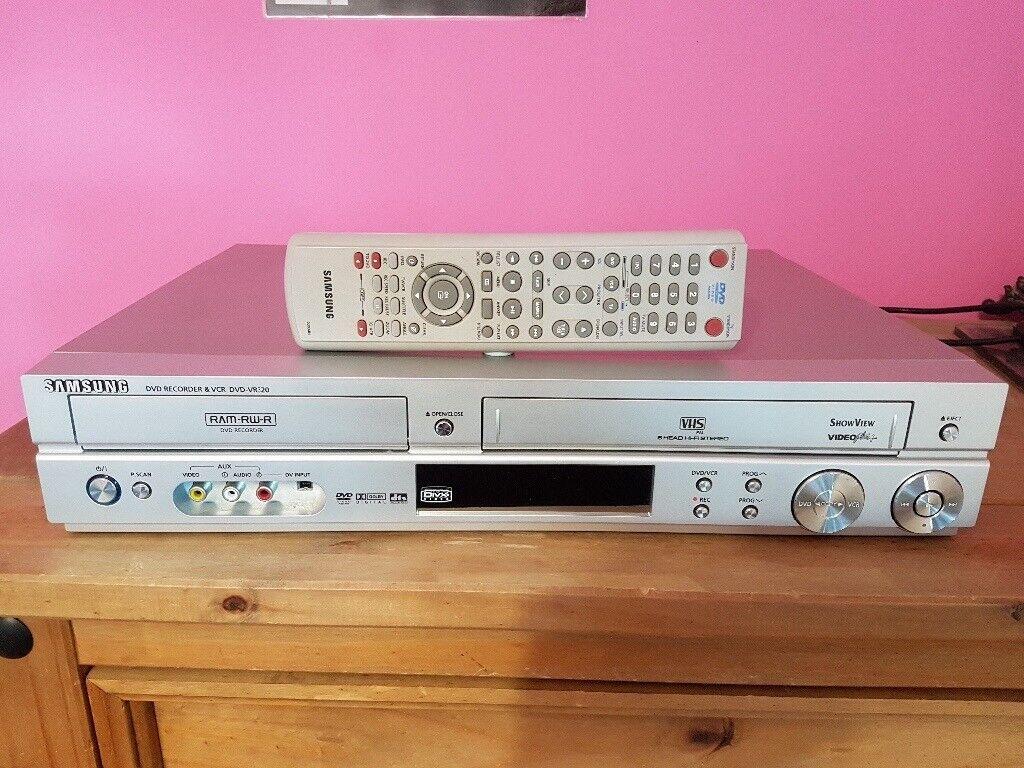 Dvdvr320a dvd recorder/ video cassette recorder user manual 00588a.
