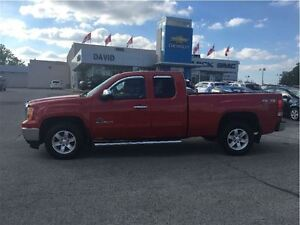2013 GMC Sierra 1500 SLE EXT 4WD SHORT, LOW KM'S!!!! LOCAL TRADE