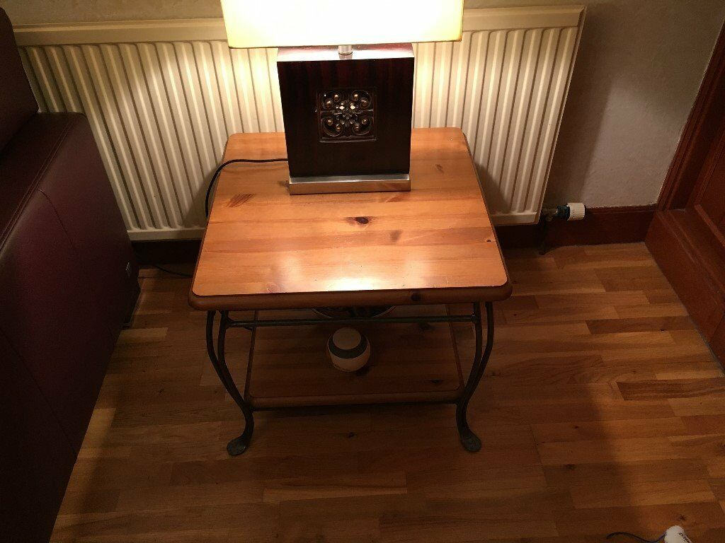 2 Ducal Pine Lamp Tables
