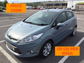 2010 FORD FIESTA 1.2 ZETEC / NEW MOT / PX WELCOME / FINANCE AVAILABLE / SERVICE HISTORY / WE DELIVER