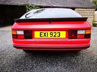 PORCSHE 924 classic car