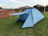 Tent. 3 Man. Trillemarka Open Air. Good Condition. 1000mm Head