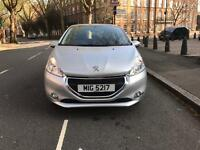 Peugeot 208 1.4 diesel 2014 top condition with private plate