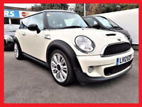 (37000 Miles)-- 2012 Mini Hatch Cooper S 1.6 --half LEATHER Seats -- Xenon Lights --Gr8 Spec --PX OK