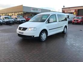 Wheelchair accessible 2010 Volkswagen caddy maxi life £9995 or £188 per month j&ft&v mallusk
