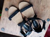 Golddigger sandals size UK 7