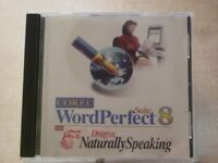 Used CD- ROM Corel WordPerfect Office Suite 8