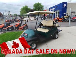 2014 Club Car Precedent Promo Seat and Light Golf Cart