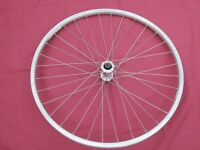 Bike Alloy Front Wheel with Tyre. 26 inch. Stainless Steel Spokes